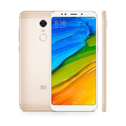 Xiaomi Redmi 5 Plus 4G Phablet 599 pouces Snapdragon 625 Octa Core 20 GHz 3 Go RAM 32 Go ROM Or