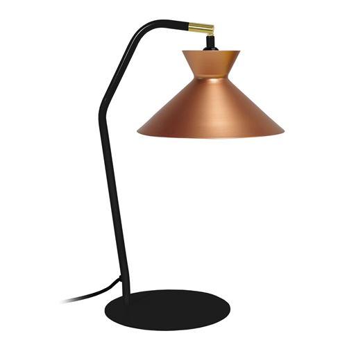 Lampe Leeds - Cône Noir / Blanc - E27 40W