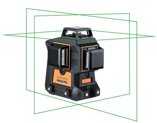 Laser GEO-FENNEL Multi-fonctions pour tous types de travaux en intérieur - Geo6X SP Kit Green - 534500