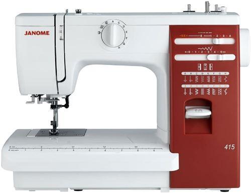 100 Sur Machine à Coudre Janome 415 Machine à Coudre Achat Prix Fnac