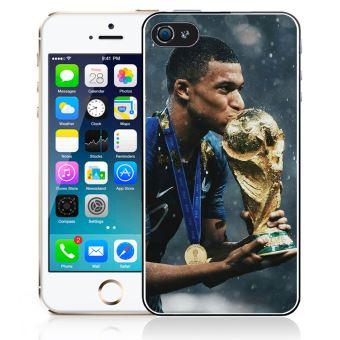 Coque pour iPhone 5/5S mbappe coupe du monde football