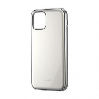 Coque pour iPhone 11 Moshi iGlaze Blanc Perle