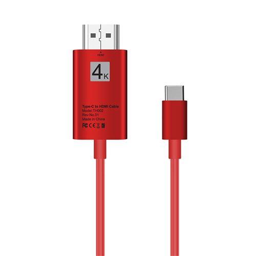 Type-C Usb3.1 pour Usb-C 4K 2K Câble Adaptateur Hdmi pour Samsung Galaxy S8 / S9 Plus ZJT049