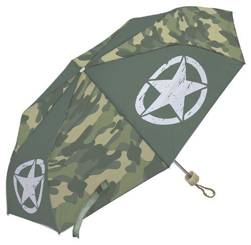 Arditex parapluie pour enfants Army 91 cm polyester vert foncé