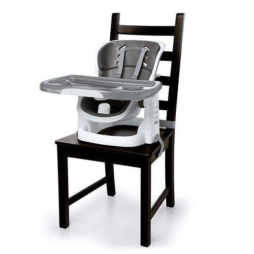 Ingenuity, Chaise Haute SmartClean Chairmate Modèle Compact, Ardoise