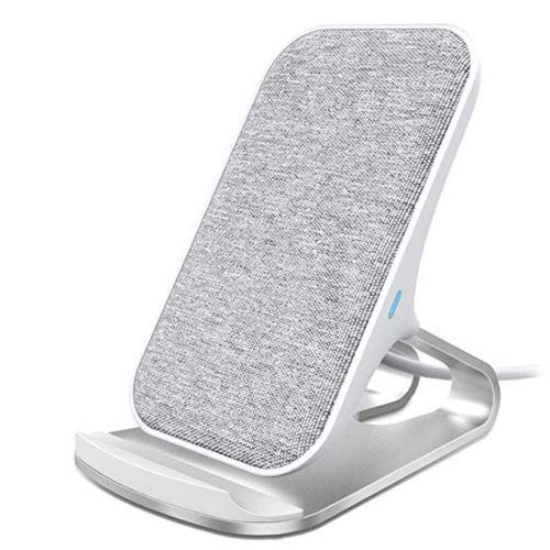 15€02 sur Chargeur sans Fil Tissu Stand à Induction Qi 10W