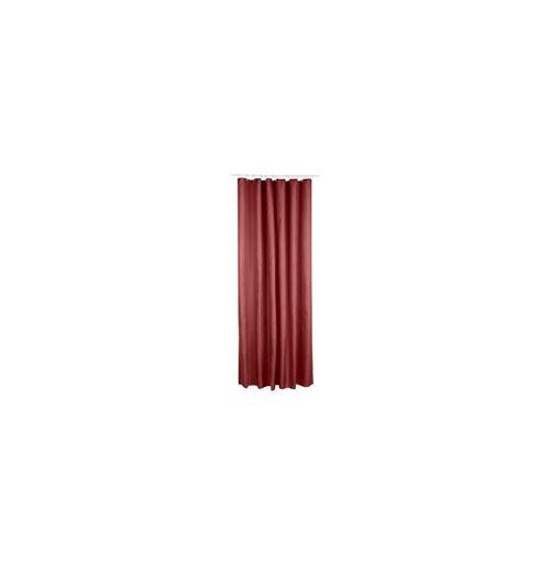 Rideau de douche en polyester - 180 x 200 cm - Rose foncé