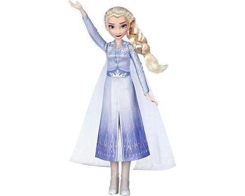 Disney - E6852GC0 - Poupée - La Reine des Neiges II Singende Elsa - Musique - Robe Bleue La Reine des Neiges 2 - Jouets pour 2391