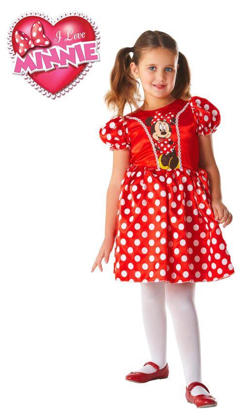 Minnie Déguisement 3-4 ans. Robe