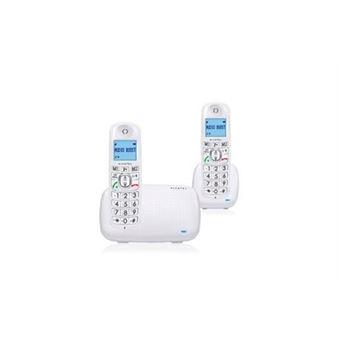 Alcatel Comfort XL385 Duo - Snoerloze telefoon met nummerherkenning - DECT - wit + extra handset