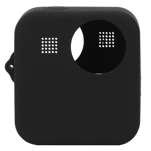 Étui de protection en silicone pour Gopro MAX caméra d'action panoramique - Noir