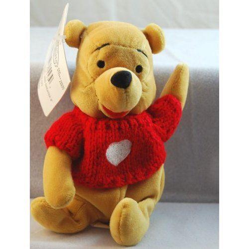 Disney mini sac de fèves Winnie l'ourson en peluche