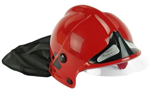 Klein casque de feu rouge
