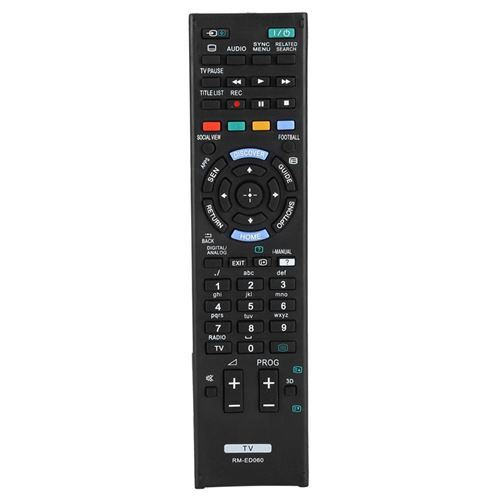 Télécommande de Remplacement Universelle LED pour Sony RM-ED060 (Batterie non incluse)