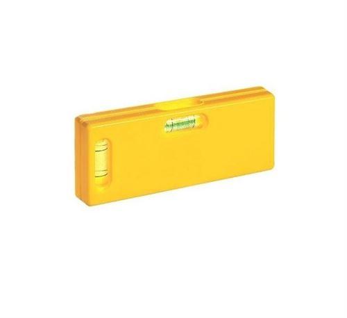 Déstock - Metrica - Niveau de poche en ABS jaune 105 mm - 33084