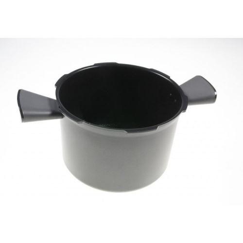 Cuve + poignées grises x2 pour autocuiseur cookeo moulinex