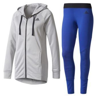 44697dd21e1f Survêtement femme adidas Sweat et collants Gris - Survêtements et ensembles  de sport - Achat   prix