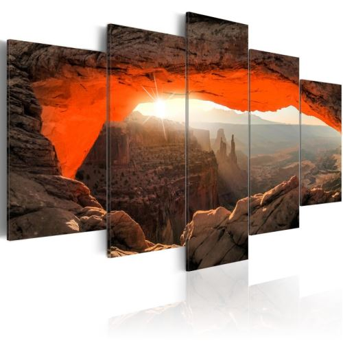 Tableau - Mesa Arch, Canyonlands National Park, USA .Taille : 200x100