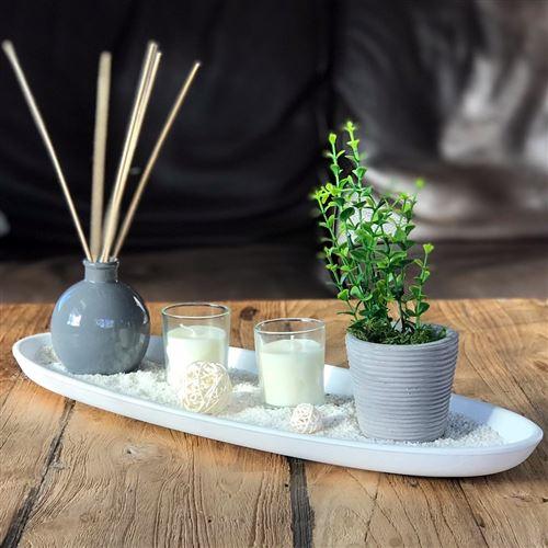 Coffret Senteur Zen Ylang 52cm Blanc