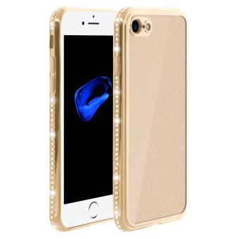 coque doree iphone 7