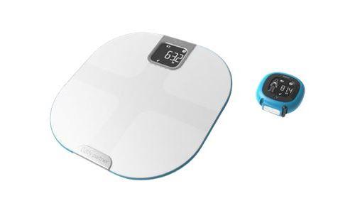 Composition Corporelle Compatible avec Health Kit et Google Fit Tefal YD3095S1 Body Partner Capteur de Silhouette Balance Connectée