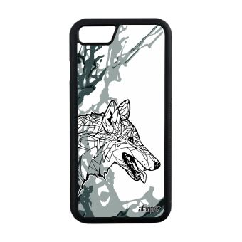 coque loup iphone 8