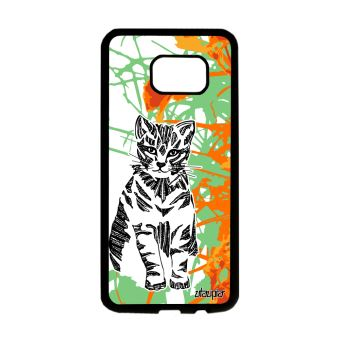 samsung galaxy s6 edge coque silicone animaux