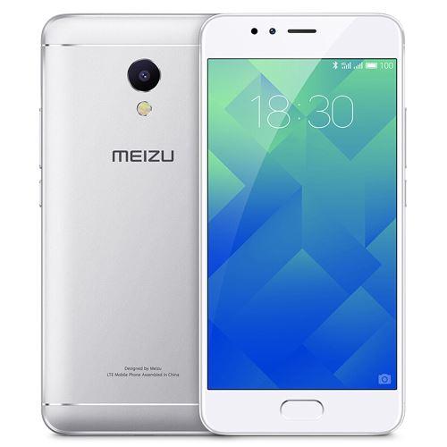 MEIZU M5S 52 pouces 4G MTK6753 Octa Core 13GHz 3GB RAM 32GB ROM Argent