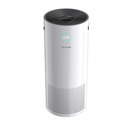 Purificateur d'air intelligent BlitzWolf BW-AP2 360 ° Anion 500m³ / h Fonction de minutage du filtre HEPA CADR H12 avec contrôle APP