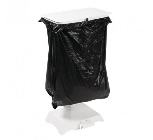 Support sacs poubelle blanc jantex