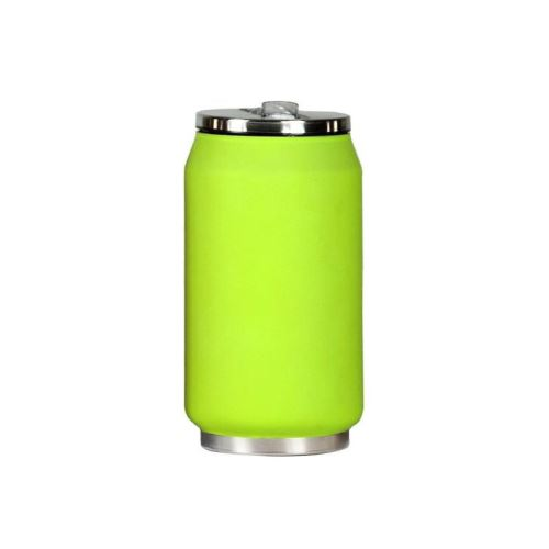 Mug canette isotherme rubber 280 ml - Vert