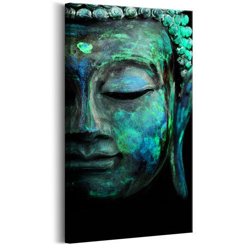 Tableau - Green Mask - Décoration, image, art | Zen | 40x80 cm |