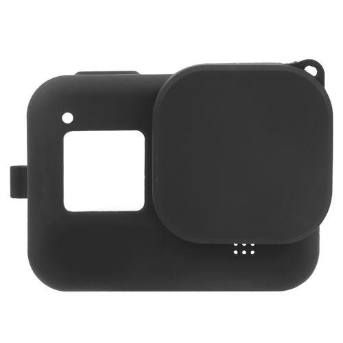 Couvercle en silicone pour GoPro Hero8 - Noir