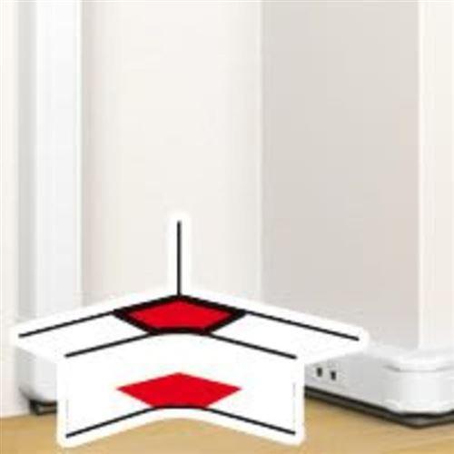 Angle LEGRAND 50x80 intérieur 80° a 100° goulotte clippage directe