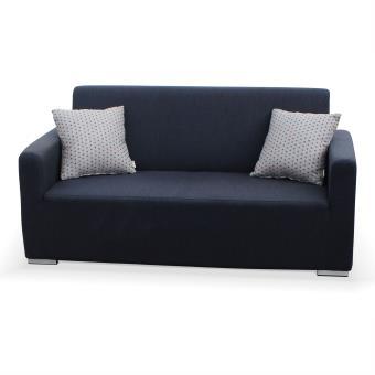 Salon de jardin toile LUSSO gris chiné, Canapé d\'extérieur avec ...