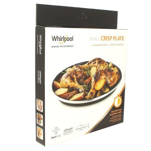 Plat crisp avm250 d=270 pour Micro-ondes Bauknecht, Micro-ondes Whirlpool, Micro-ondes Ikea