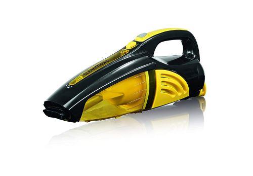 Cleanmaxx 00973 Aspirateur à main 2 en 1 – Aspirateur Sec/Humide/– 40 W kabellos Nettoyage Budget Jaune/Noir