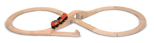 Melissa Doug Figure 8 Train Set