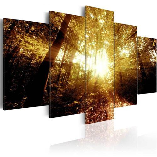 Artgeist - Tableau - Forêt d'automne 200x100