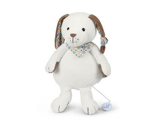 Sterntaler 6021736, Jouet musical, Multicolore, Coton, Polyester, Chien, 250 mm