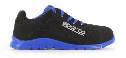 Chaussure de sécurité S24 SPARCO Practice - Noir /bleu - Taille 44 - PRACTICE07517NRAZ44