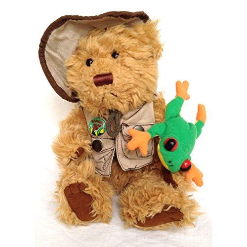 Rain Forest Rudy 11 Plush Talking Bear