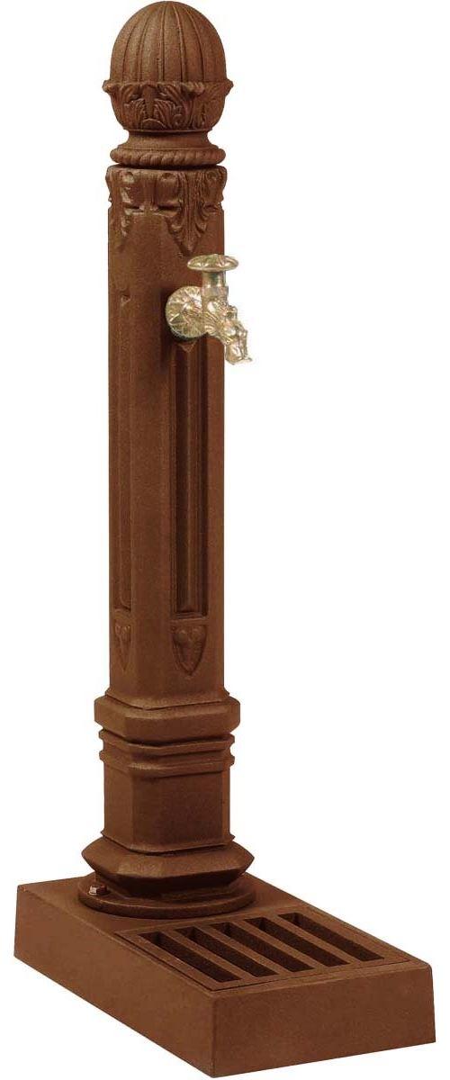 Dommartin Fonte D\'art - Borne fontaine Griffon Brun antique