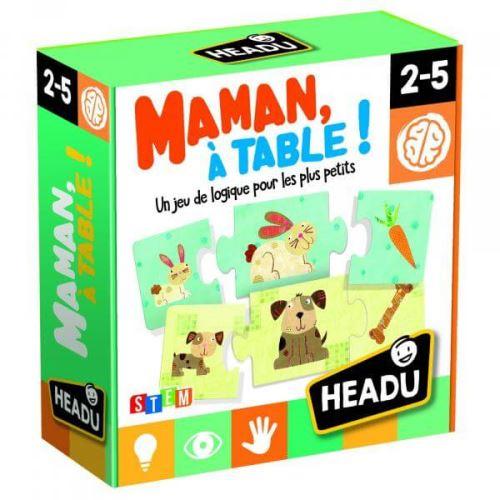 HEADU - Jeu De Logique Puzzles Maman À Table