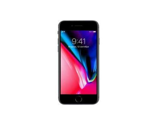Apple iPhone 8 Smartphone 4G LTE Advanced 64 Go GSM 4.7 1334 x 750 pixels (326 ppi) Retina HD 12 MP (caméra avant 7 MP) gris
