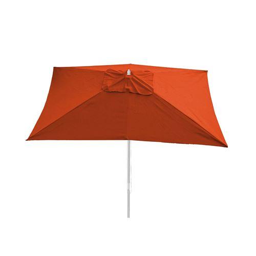 Toile pour Parasol Florida, 3x4m, polyester 6kg ~ couleur terre cuite