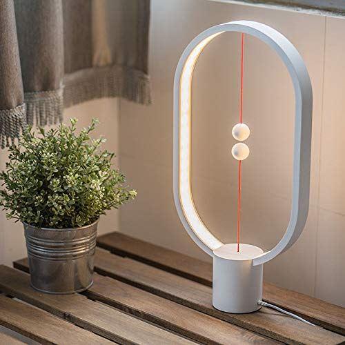 Allocacoc Heng /équilibre lampe Ellipse Flotte magn/étique Interrupteur lampe LED aliment/é par USB