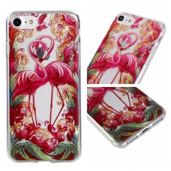 coque iphone 8 flamingo