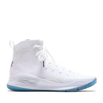Chaussure de Basketball Under Armour Curry 4 Blanc pour homme Pointure 49.5