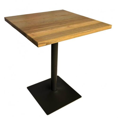COFFEE - Table carree bois massif